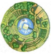 """Projet """"De l'agro-écologie ? Ca roule !"""". L'équipe du CFA des métiers de l'horticulture et du cheval de Saint-Germain-en-Laye (78) a intégré à son projet des potagers partagés et des vergers, des jardins d'agrément, des espaces de détente et une parcelle de prairie. Sans oublier une mare filtrée par des plantes phytoépuratrices, le recyclage des déchets et l'accueil de diverses espèces animales."""