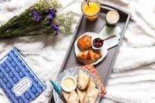 Livraison de petit déjeuners avec Mr Matin (Photo : Latoque.fr).