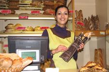Vendeuse en boulangerie (Photo : latoque.fr)