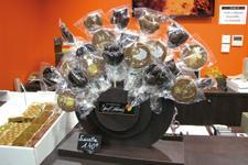 Les sucettes en chocolat, une idée d'Yves Thuriès pour séduire les enfants. (Photo : latoque.fr)