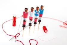 Sucettes en forme de footballeurs (Photo : LaToque.fr).