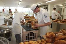 Jeunes en apprentissage boulangerie (Photo : Latoque.fr).