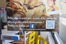 Le QR code en boulangerie-pâtisserie (Photo : latoque.fr).