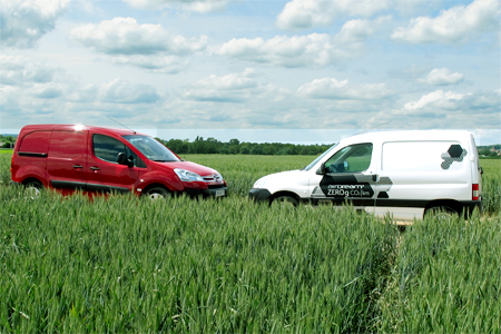 Citroën Berlingo électrique et diesel - Photo : GFA